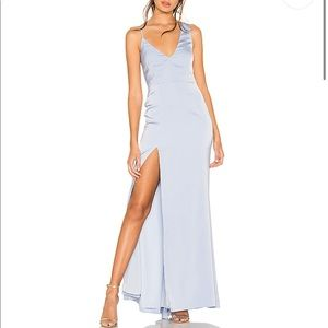 Negroni Gown in Baby Blue